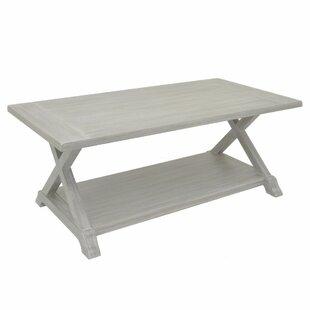 Gracie Oaks Padmasini Wood Coffee Table