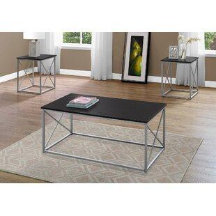 Ebern Designs Calzada 3 Piece Coffee Table Set
