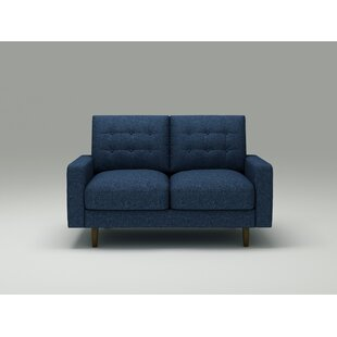 Ruthanne 504 Square Arms Loveseat