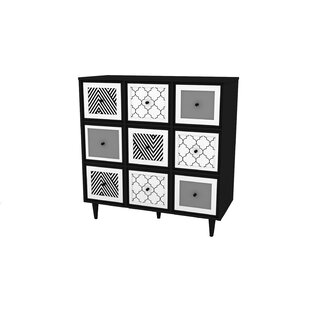 Neasa 6 Door Accent Cabinet