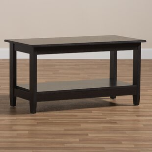 Ebern Designs Hoboken Wooden Coffee Table