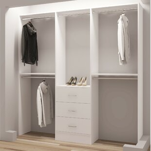 Comparison Demure Design 81W Closet System By TidySquares Inc.