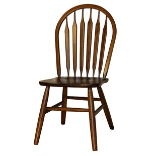 Hollingsworth Classic Arrowback Solid Wood Dining Chair (Set of 2)