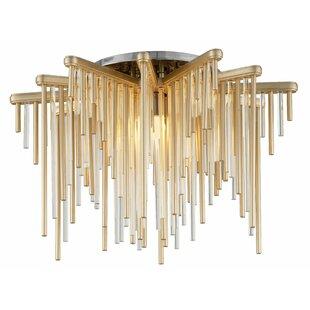 Corbett Lighting Theory 1-Light LED Semi Flush Mount