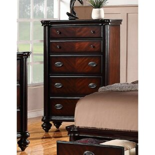 Labounty Plywood 5 Drawer Accent Chest by Alcott Hill