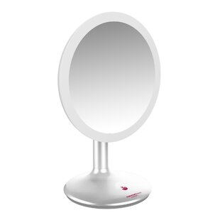 Reviews Alcrossagh LED Mirror Stand ByWinston Porter