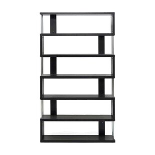 Spicer Geometric Bookcase by Ebern Designs