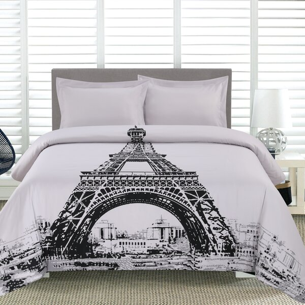 Eiffel Tower Twin Bedding Set Wayfair