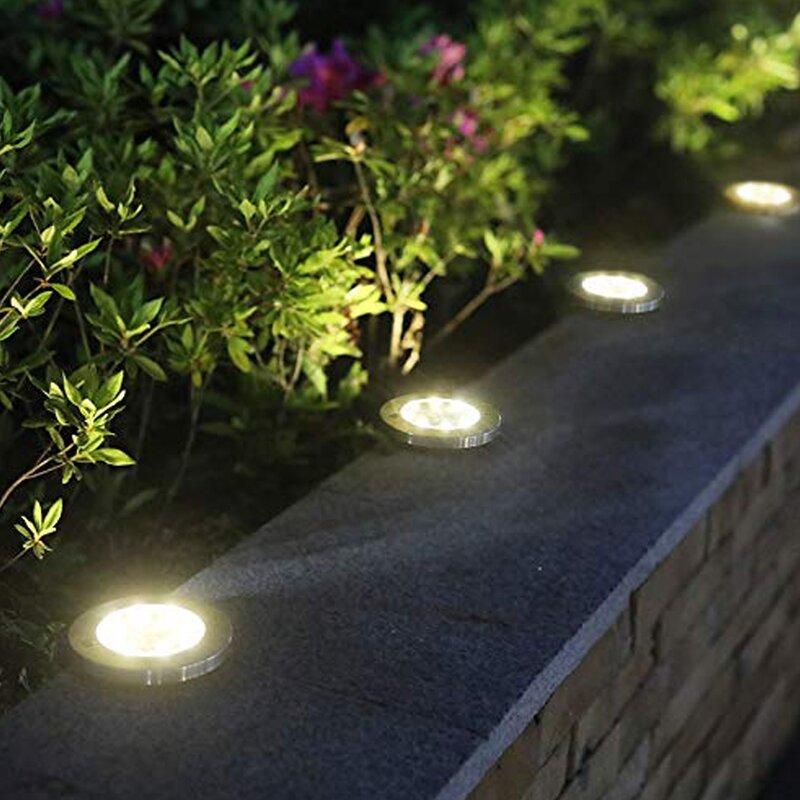 Linscraft Silver Solar Powered Integrated Led Pathway Light Pack Wayfair