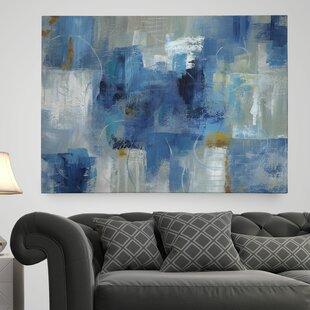 U0027Blue Morningu0027 Painting Print On Wrapped Canvas