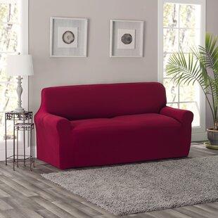 King Box Cushion Sofa Slipcover by Breakwater Bay