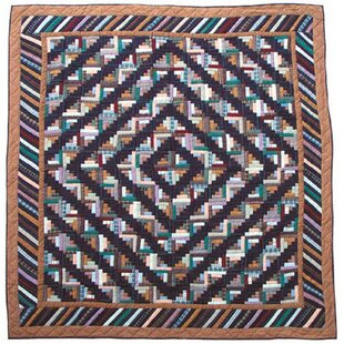 Patch Magic Dusty Diamond Log Cabin Quilt