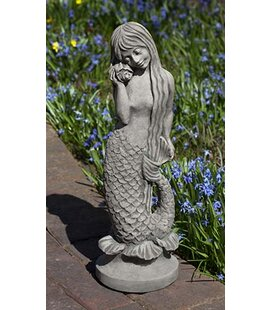 Campania International Standing Mermaid Statue