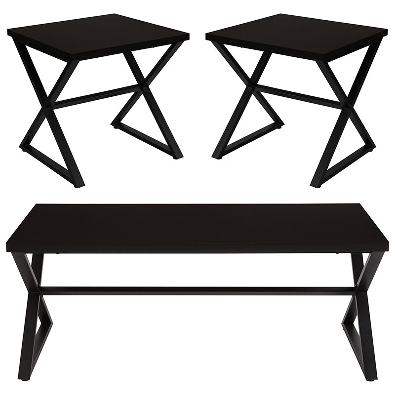 Winston Porter St Catherine 3 Piece Coffee Table Set | Wayfair