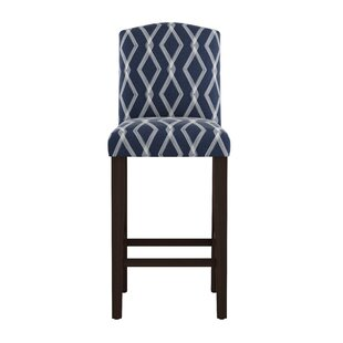 Edford Arched Crossweave 31 Bar Stool Wrought Studio