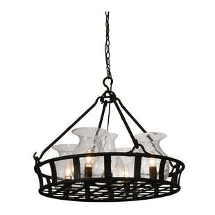 Eliza 5-Light Shaded Chandelier by Darby Home Co