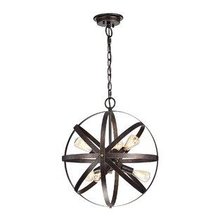 Williston Forge Marlys 6-Light Globe Chan..