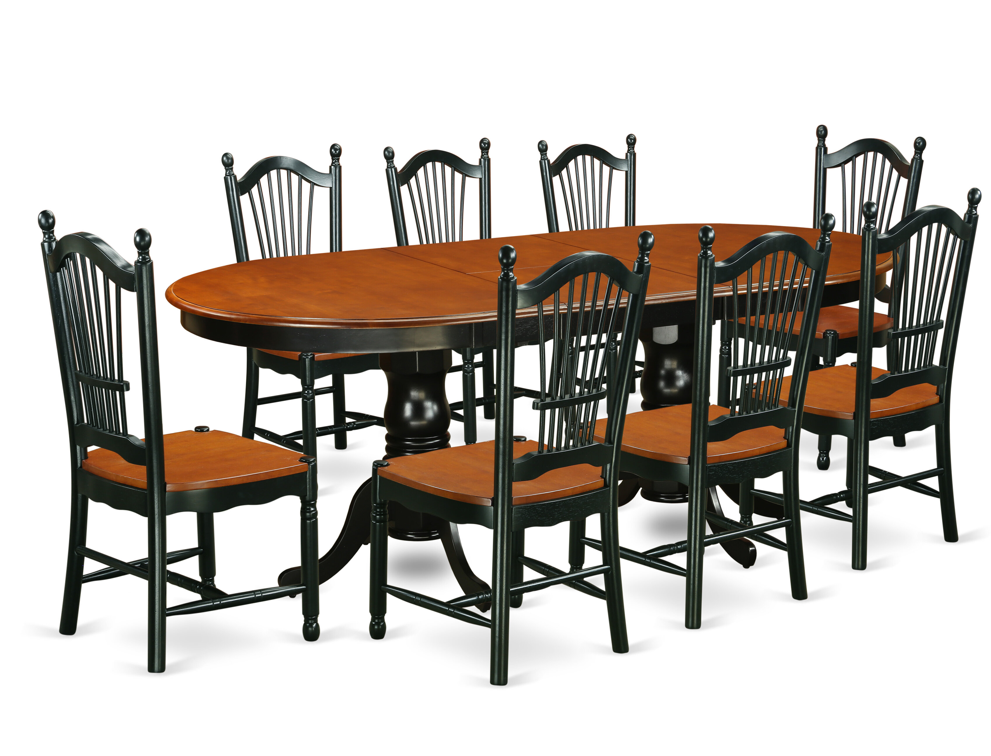 August Grove Pilcher Butterfly Leaf Solid Wood Dining Set Wayfair