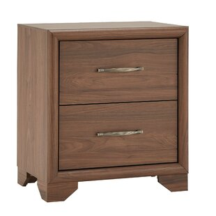 Downey 2 Drawer Nighstand