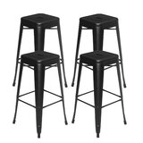 Bayman 30.3 Bar Stool (Set of 4) by Williston Forge