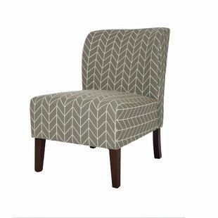 Glitzhome Modern Accent Chair Slipper Chair