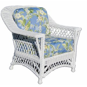 Bar Harbor Armchair by Spice Islands Wicker
