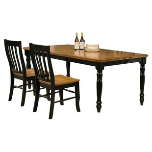 Courtdale 7 Piece Extendable Solid Wood Dining Set