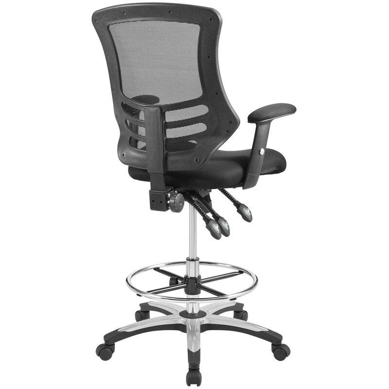 La Mott Ergonomic Mesh Drafting Chair