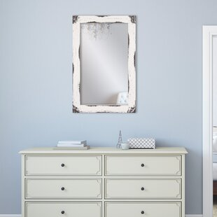 Reviews Tryphena Distressed Reclaimed Wall Mounted Mirror By Gracie Oaks