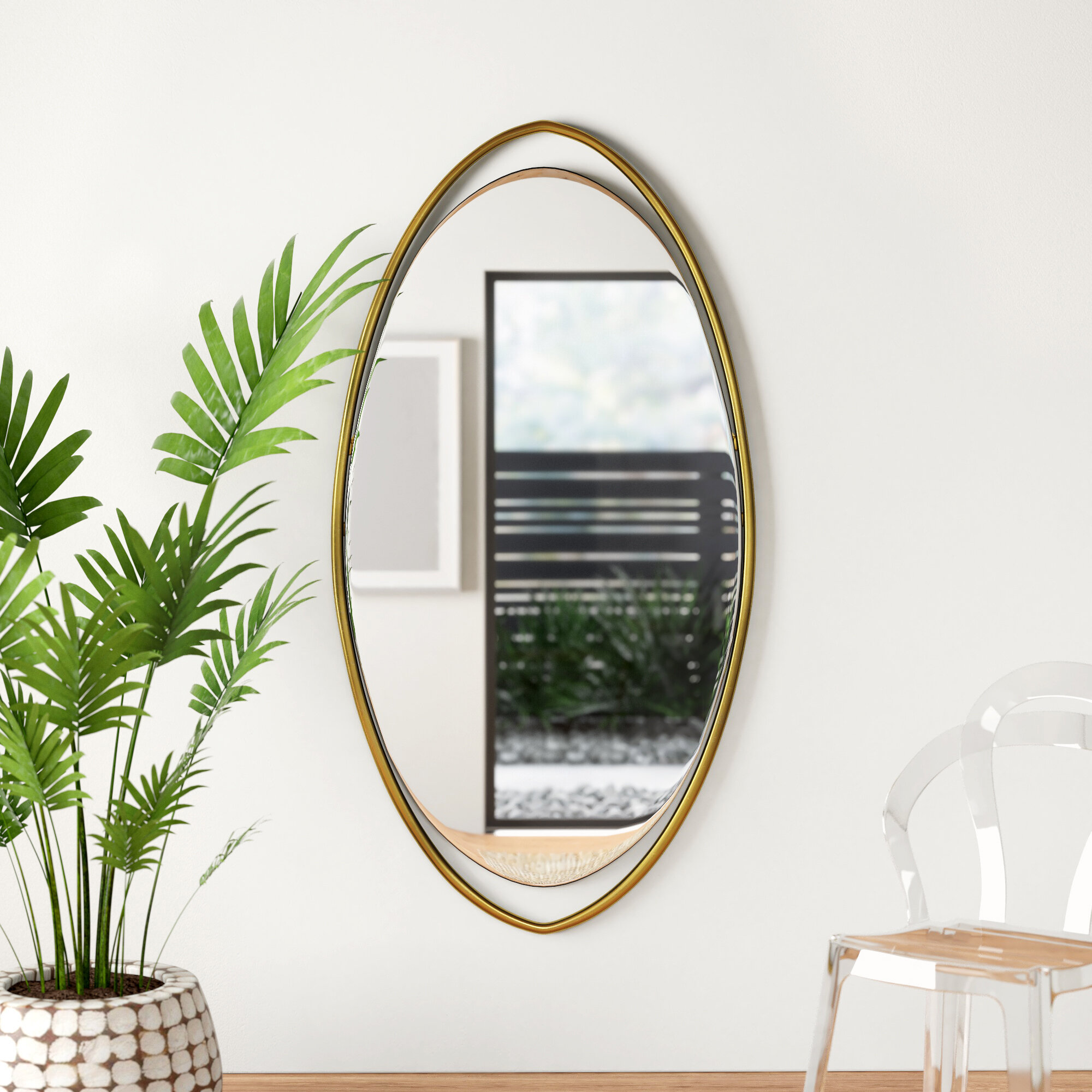 Camillea Modern Contemporary Accent Mirror Allmodern