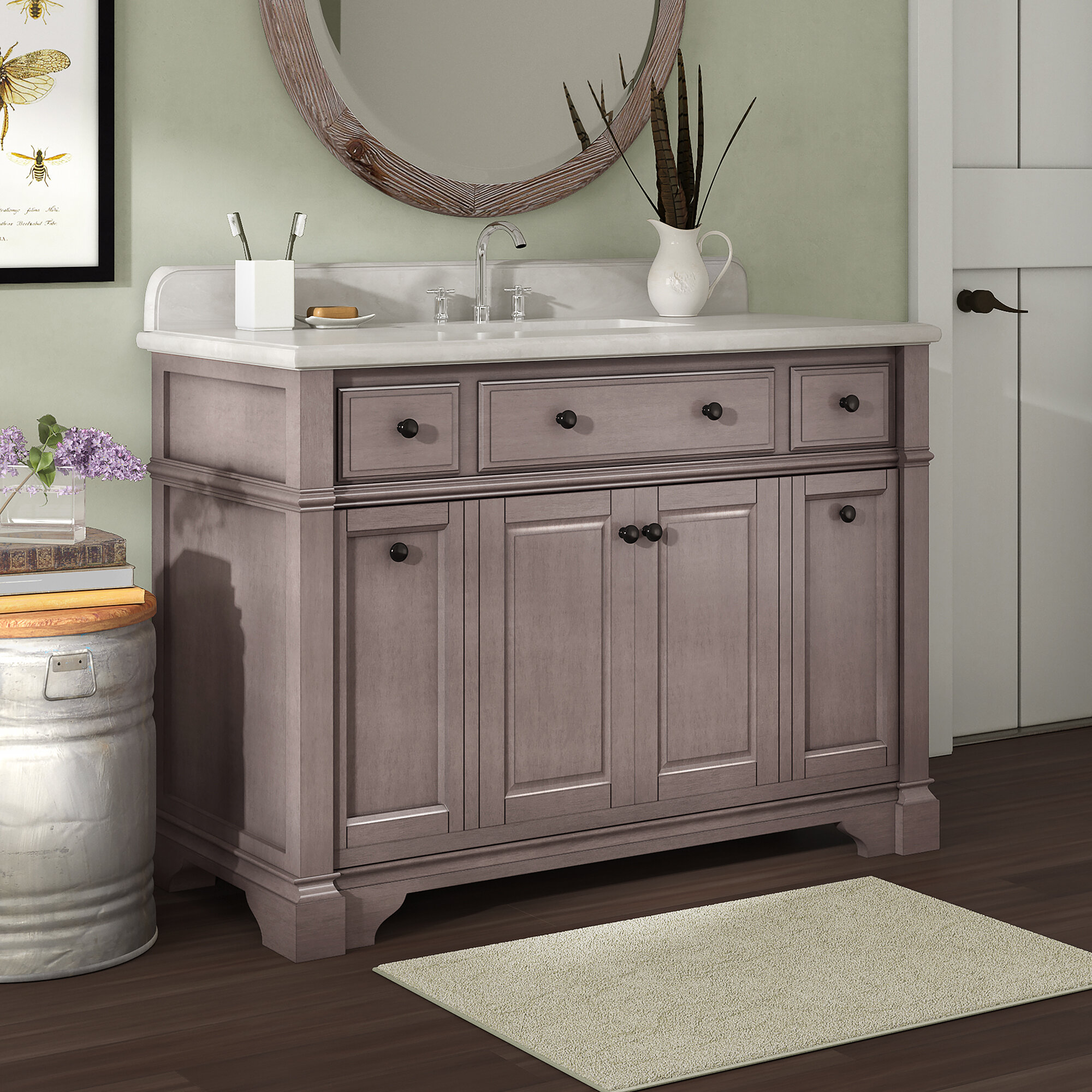 French Country Single Vanities You Ll Love In 2021 Wayfair