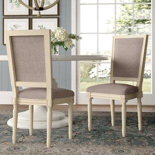Lark Manor Elyas Upholstered Dining Chair (Set of 2)