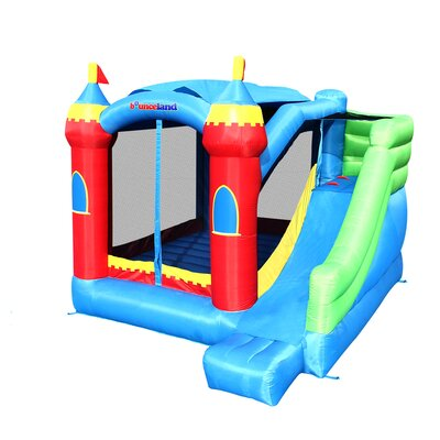 Royal Palace Bounce House with Slide Bounceland