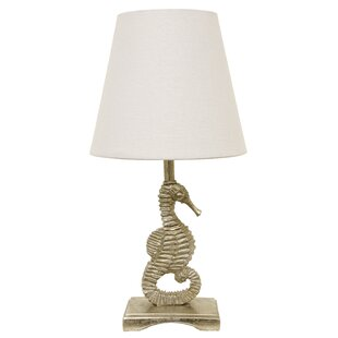 Horse table lamp wayfair dilys sea horse 16 table lamp aloadofball Gallery