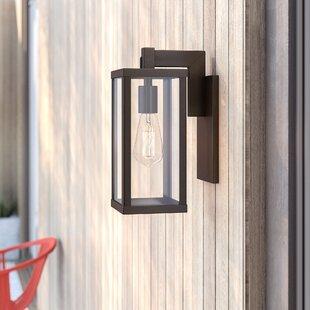 Pratt Outdoor Wall Lantern by Mercury Row