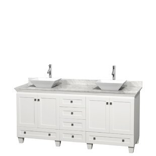 Read Reviews Acclaim 72 Double Bathroom Vanity Set By Wyndham Collection