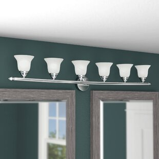 Edgerton 6-Light Vanity Light By Darby Home Co Wall Lights