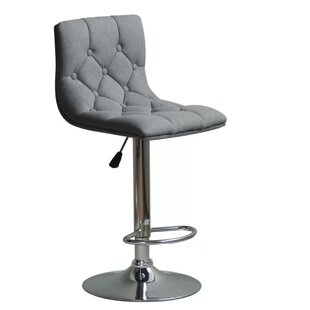 Great choice Isaacs Adjustable Height Swivel Bar Stool by Orren Ellis Reviews (2019) & Buyer's Guide