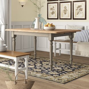 Calila Extendable Solid Wood Leg Dining Table by Birch Lane? Heritage