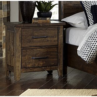 Amey 2 Drawer Nightstand