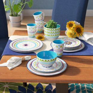 Ko 16 Piece Dinnerware Set, Service for 4