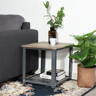 Throop End Table with Storage