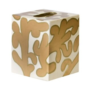 Worlds Away Tissue Box Cover