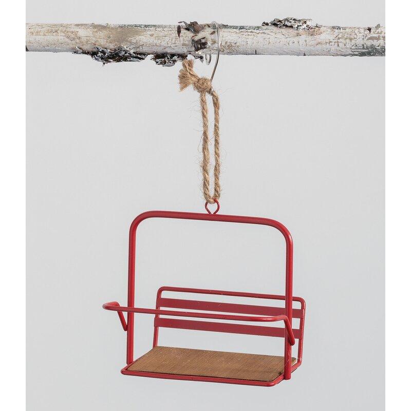 Ski Lift Hanging Figurine Ornament Joss Main