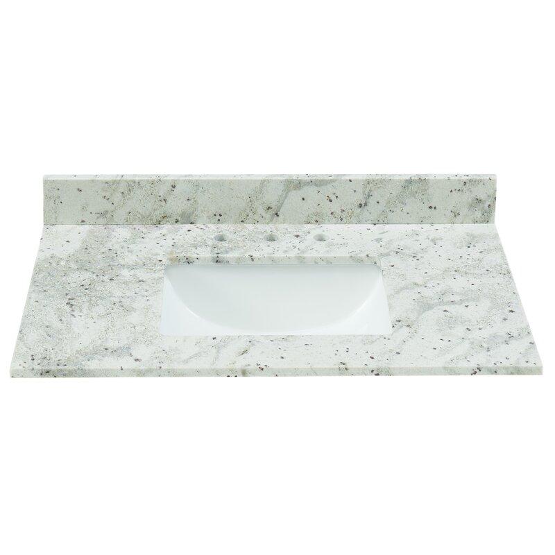 Tile Top Granite 37 Single Bathroom Vanity Top Reviews Wayfair