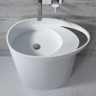 Top Reviews Stone 34 Pedestal Bathroom Sink By InFurniture