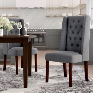 Toshia Upholstered Dining Chair (Set of 2)