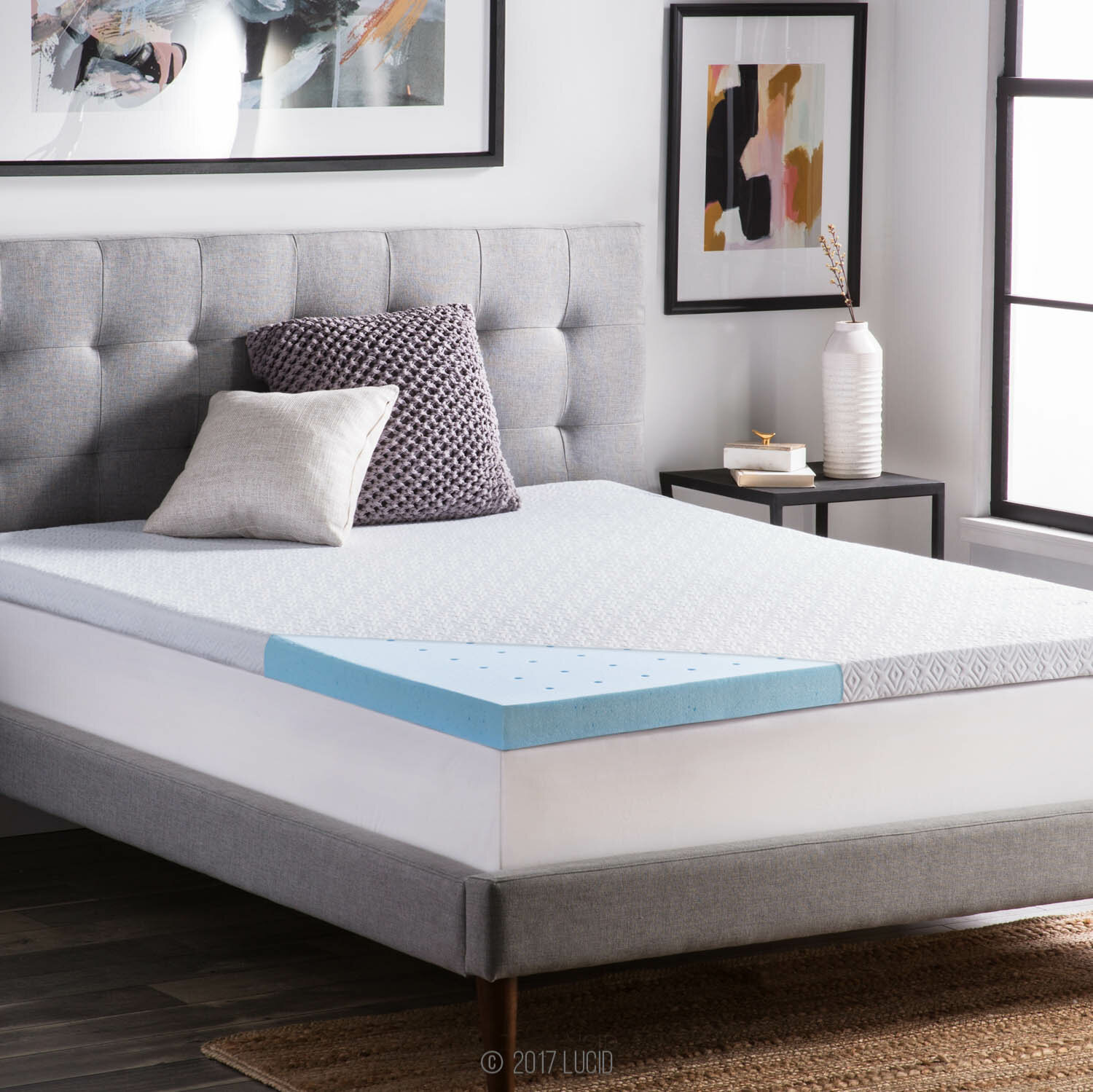 inspiration pic mattress inch solutions slumber toppers of topper foam amazing imgid styles highloft uncategorized and thick supreme memory