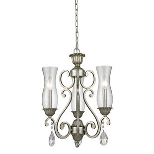 Alcott Hill Guernsey 3-Light Shaded Chandelier