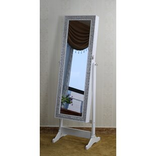 Navarrette Jewelry Armoire with Mirror by House of Hampton